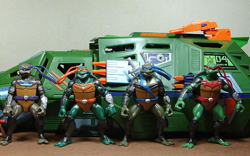 Teenage Mutant Ninja Turtles Brave Fortress