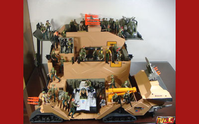 G I Joe 1980s Mobile Command Center Playset Brave Fortress