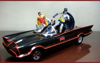 Mattel Batman 66 Classic Tv Series Batmobile Brave Fortress