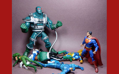 Mattycollector Exclusive Dc Universe Classics Sdcc Exclusive 2014 Bound Doomsday Brave Fortress